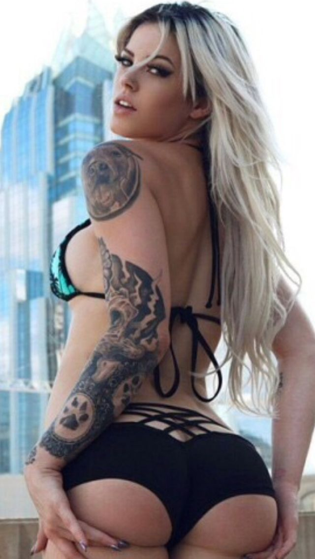 Thick Tattoo White Girl Fucked