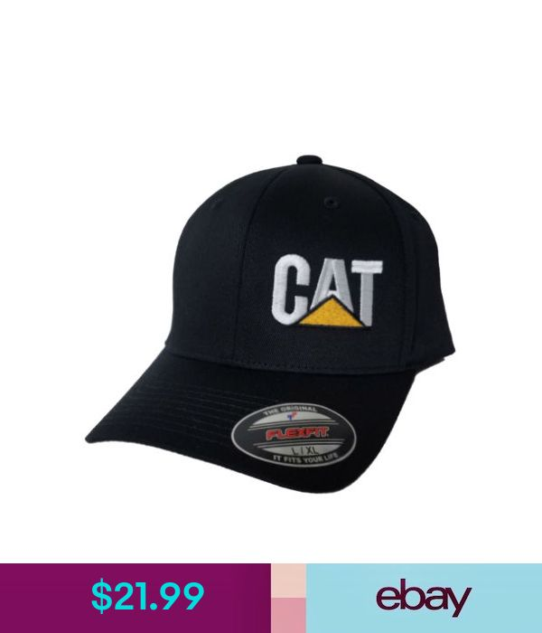 b5a66455 Hats Cat Flexfit Hat Cap Caterpillar #ebay #Fashion   Products   Hats,  Baseball hats, Cap