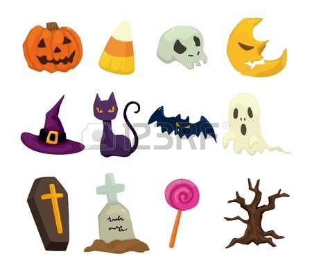 Halloween icons set  photo