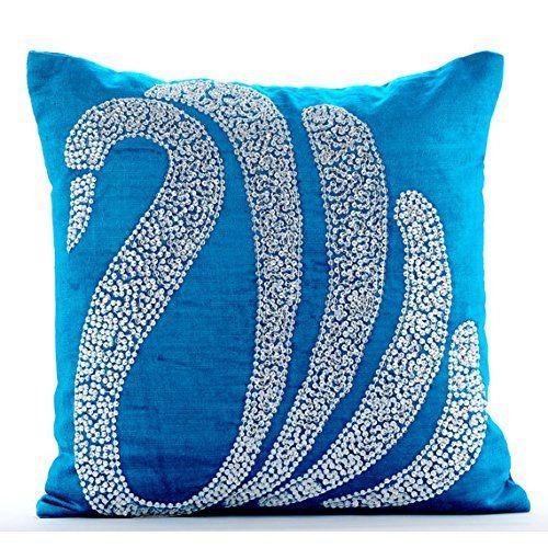 Luxury Blue Cushion Covers, Crystal Swan Cushions Cover, ... https://www.amazon.co.uk/dp/B00VDDLD5Y/ref=cm_sw_r_pi_dp_x_nF0GybPR3X3K6