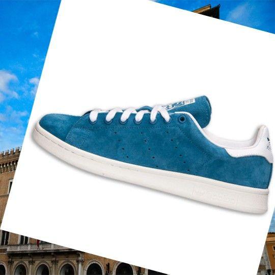 Adidas Stan Smith Scarpe da Tennis Per gli uomini Blu Tribù/Bianco