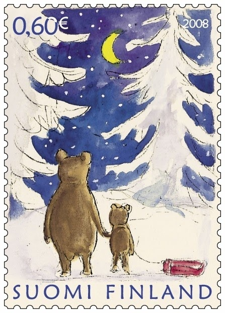 2008 Finnish Christmas Stamp, I have saved acouple of these and gonna make a brooch