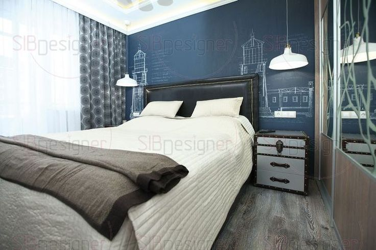 дизайн спален дизайн спальни интерьеры спален интерьер спальни фото - СибДизайнер.ru
