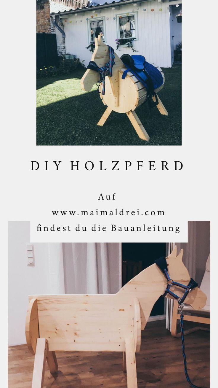 Diy Holzpferd Diy Diy Holzpferd In 2020 Horse Diy Wooden Diy Diy