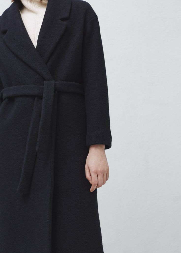 Handmade coat - Coats for Women | MANGO