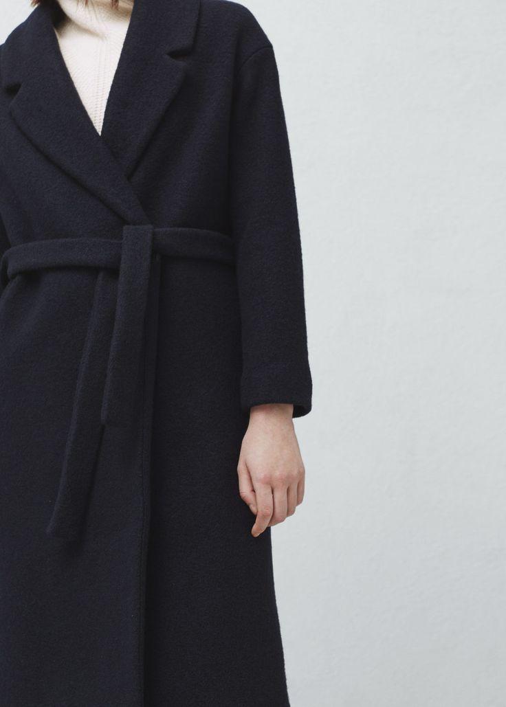 Handmade coat - Coats for Women | MANGO