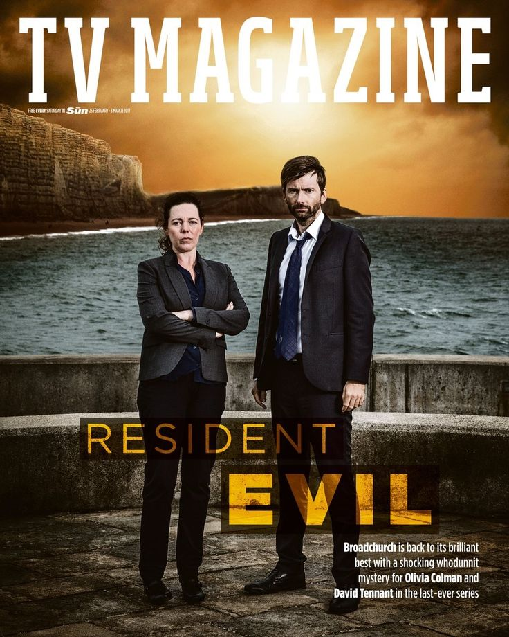 #Broadchurch 3 - Miller and Hardy Featured on The Sun newspaper's TV Weekend magazine (UK)