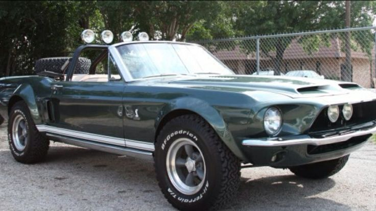 1968 mustang shelby gt500 convertible modified for off road cars - Ford Mustang Shelby Gt500 1967 Convertible