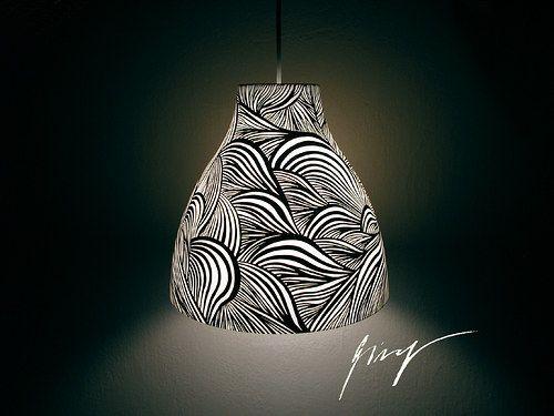 Girafí - zebralkový dárce světla..