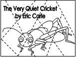 1. Have them color, cut and put back together?  Puzzle for The Very Quiet Cricket
