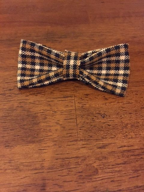 The plaid bow tie, a very dapper looking bow tie for your little one! $10.00!