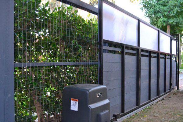 modern driveway gate automatic gate opener yelp
