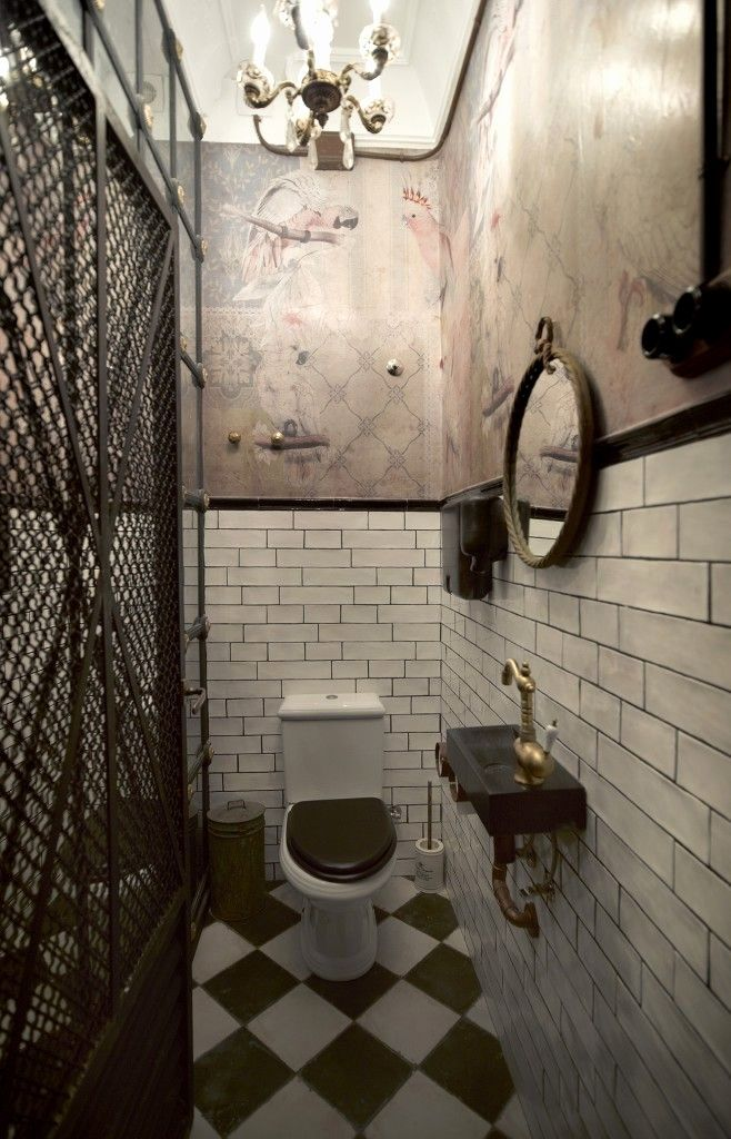 Carrelage Metro Vert Restaurant Bathroom Toilet Design Toilet Restaurant