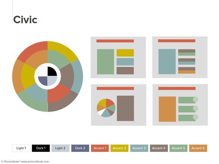 PowerPoint 2010: Color theme #10: Civic