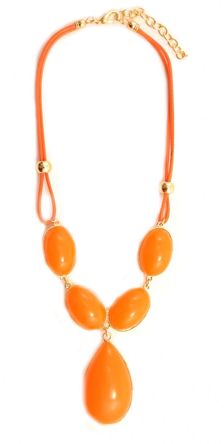 """Colier """"Sweet orange"""" - Meli Melo - Paris"""