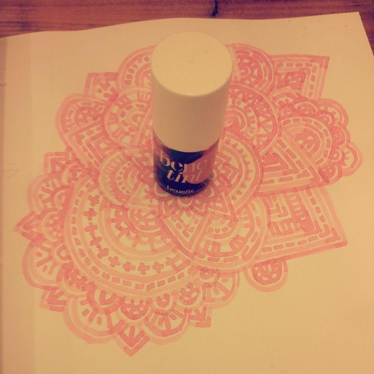 Benetint drawing