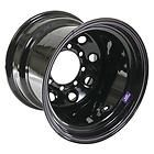 """Bart Wheels Super Trucker Black Steel Wheels 15""""x12"""" 8x6.5"""" BC Set of 4 - http://awesomeauctions.net/wheels-rims/bart-wheels-super-trucker-black-steel-wheels-15x12-8x6-5-bc-set-of-4/"""