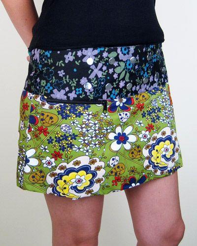 Zand Amsterdam reversible skirt