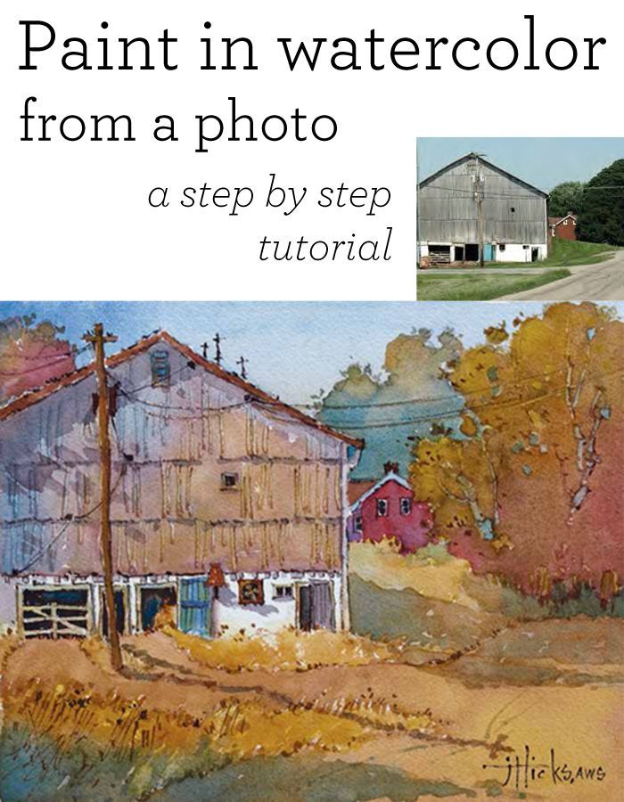 10 best images about watercolor instruction on pinterest for Watercolor painting for beginners step by step
