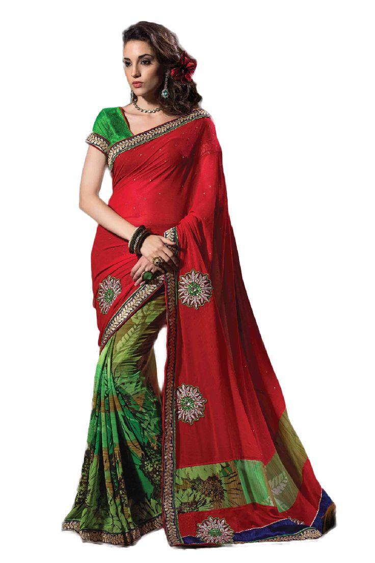 Fancy Embroidered Designer Saree STU34008 | Bollywood ...