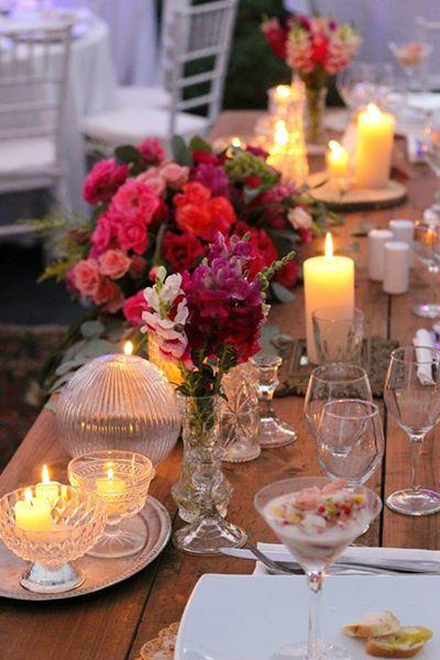 Mesa de novios #wedding #table #deco #vintage