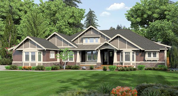 Silverwood House Plan - 3250 - Wow, everything and more in one level!