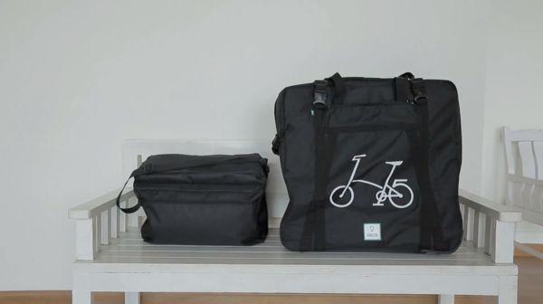fahrradcontainer stofftasche fahradbox kunststoff fahrrad transportieren