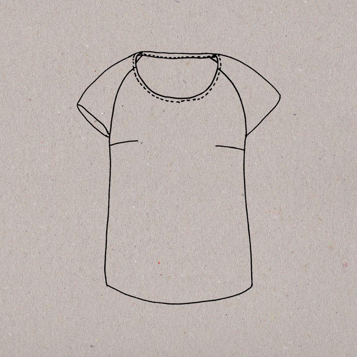 Must-have, voilà un petit haut ultra-rapide à réaliser qui porte diaboliquement bien son nom ! Ce t-shirt manches raglan, à la coupe impeccable, exige une place de choix dans votre dressing. Et quand on en a cousu un, c'est terrible, on ne peut plus s'arrêter : toutes les associations de tissus et de matières sont permises. Je vous aurai prévenues...  Patron en taille réelle Explications détaillées et illustrées Tailles pour Meuf : S, M, L et LL Guide des tailles   Patron numérique...