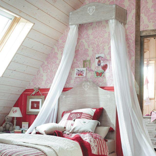 ¿Quieres hacer un romántico dosel para tu cama por menos de 5 dólares?: Pasos para hacer el cielo para cama