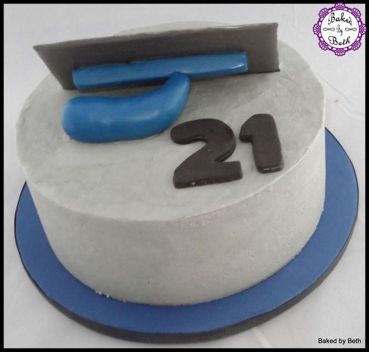 Plasterer cake - Cake by BakedbyBeth