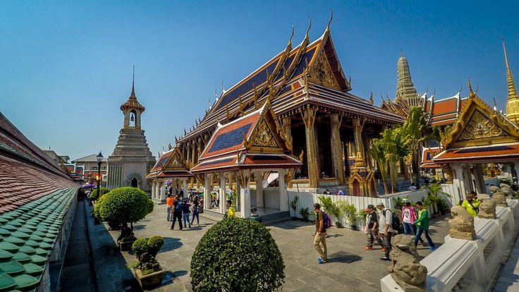 Wat Phra Kaew w Bangkoku. Najpiękniejsza i najważniejsza świątynia Bangkoku!