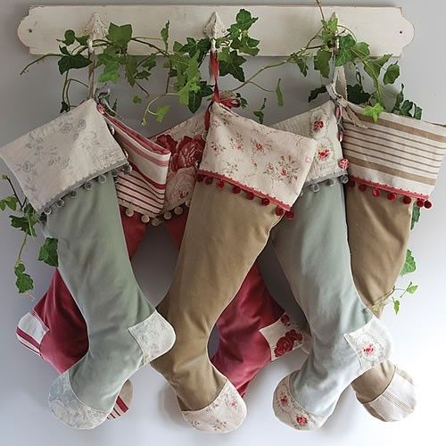 CHRISTMAS STYLE | Cottage Christmas Ideas | Ivy and Christmas Stockings |