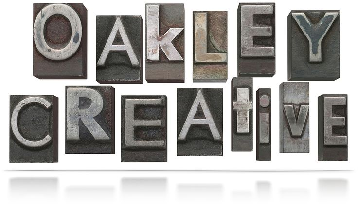 Oakley Creative: Home of cool graphics and book design.