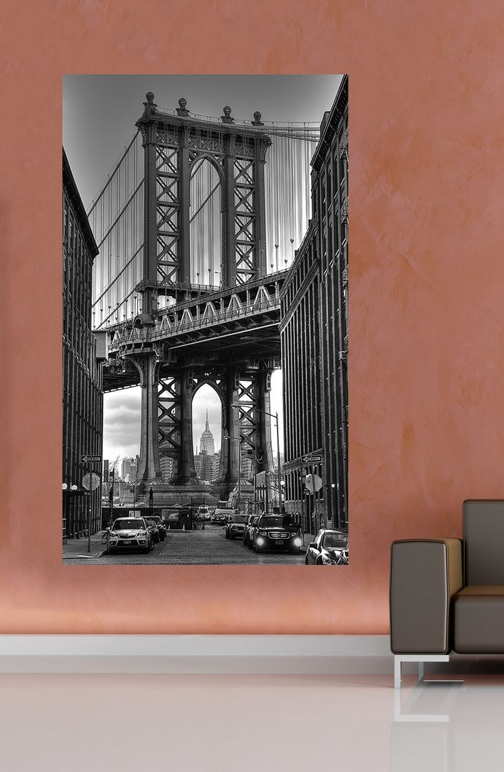 New York, Manhattan Bridge large photo poster | home decoration | inspiration for home | gift idea