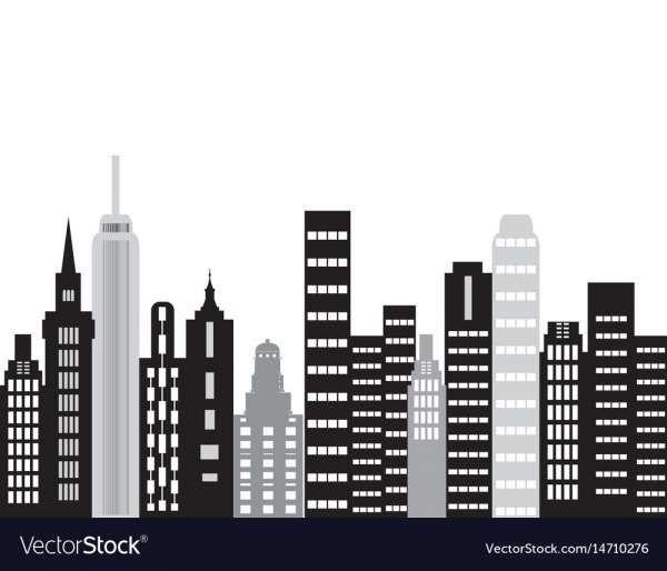 17 City Building Vector Building Illustration City Buildings Building Silhouette