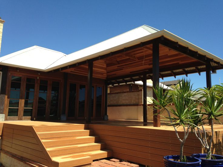 Alfresco, Decking, Stairs by #perthdesignconstruct