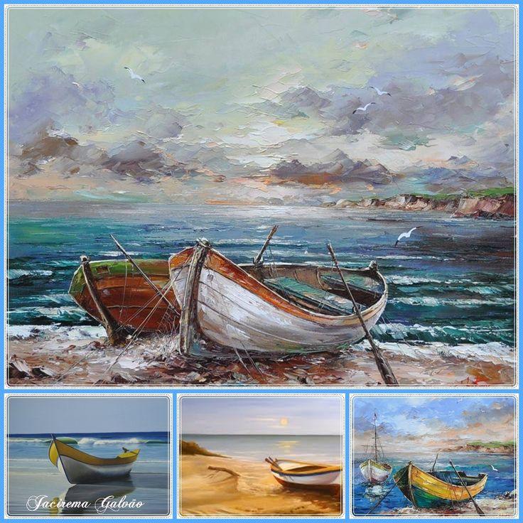 Barcos - Pintura