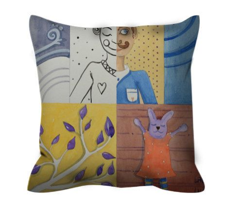 Two cushions with zip di LiuLab su Etsy