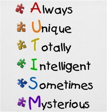 So very true! I love all of my brilliant autistic clients! It's not really work when you love the ones you work with!