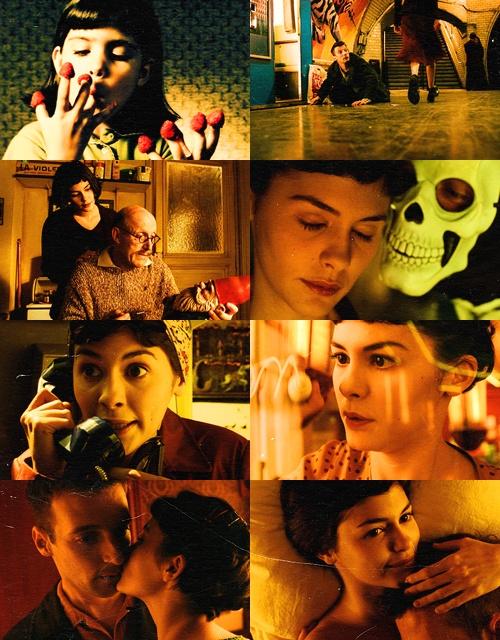 Amelie <3 (Le fabuleux destin d'Amélie Poulain en francés) 2001  Dir. Jean-Pierre Jeunet,
