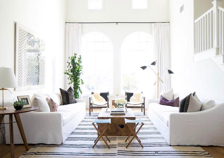 Ventanas altas con arco - cortinas?