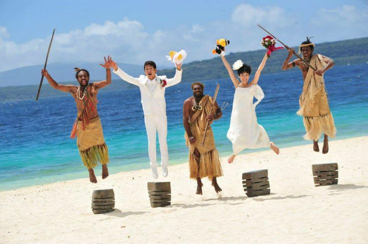 Wedding @ The Havannah, Vanuatu
