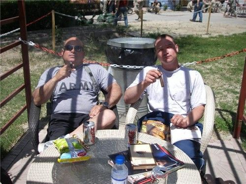 Cigar Smokers in Afghanistan: Cigar Donations Received by Troops