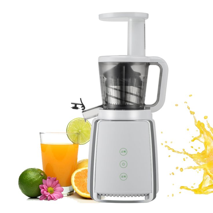 Digital slow juicer
