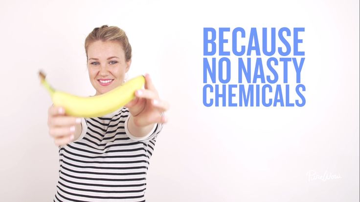 We had to test this all natural banana-peel teeth-whitening trick for ourselves. Evidently, the potassium, magnesium and manganese in the peel all contribute to fighting stains on your enamel.