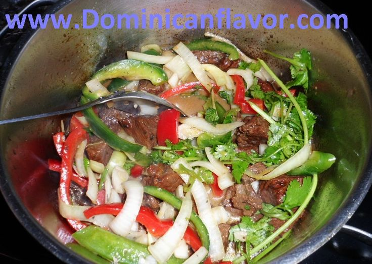 Dominican style Stewed Beef/Carne de Res Guisada | Delicious Dominican Cuisine
