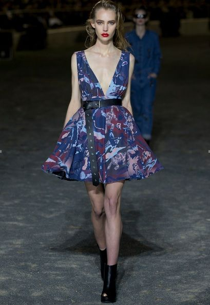 Stolen Girlfriends Tiki Ball Dress #nzfw #runway
