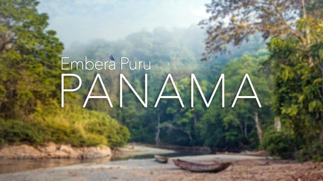 An adventure of a lifetime! A canoe ride with camera in hand to the remote native village of Embera Puru in the jungles of Chagres National Park, Panama.  Thanks to Embera Village Tours http://www.emberavillagetours.com  Music by Broke For Free and the people of Embera Puru