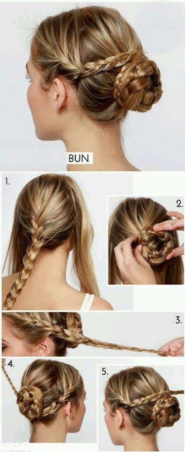 Peinados con trenzas fáciles para invitadas