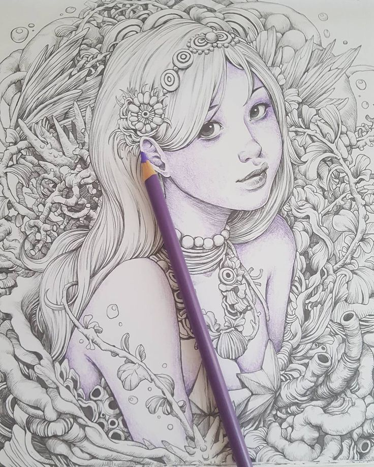 338 Best Coloring BooksInspiration Images On Pinterest
